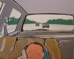 Jolein Landeweer - Baby in auto